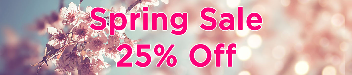 SiNi Spring Sale_25% Off